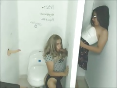 Two Teenagers Gloryhole Fun