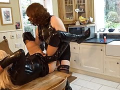 Harder - Zara fucked by Alison and Sally in  Boots