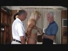Mature Trans woman pleasing an old sugar father