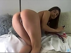 Veronica Rodriguez Masturbates with several dildos Anal Fun Squirting