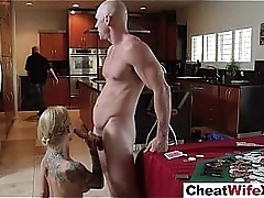 Sexual intercourse Scene With Infidelity Cheating Mischievous distressing Hoiusewife (sarah jessie) clip-29